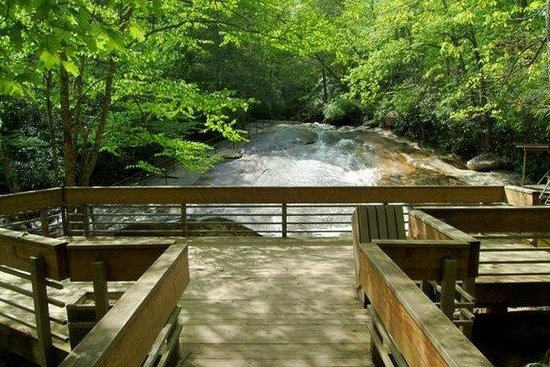 Holiday Inn Express Hotel & Suites Brevard: Sliding Rock Falls