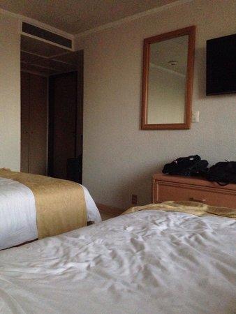 Hotel PF: Desde la cama de la recámara.