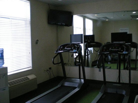Holiday Inn Express New Buffalo : Fitness Room