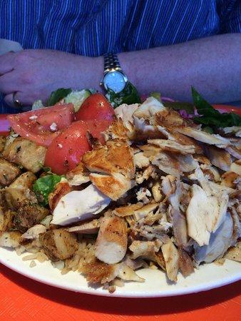 Shawarma Palace: Chicken shawarma platter