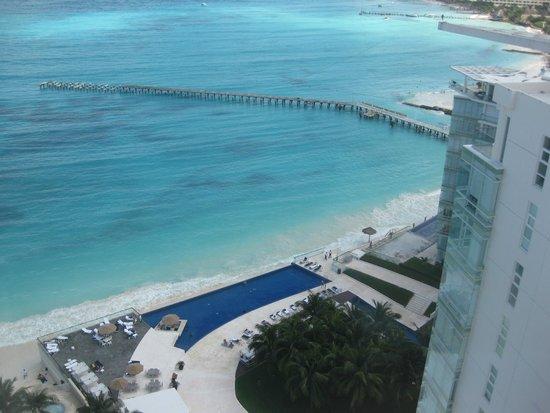 Hotel Riu Cancun : Vista