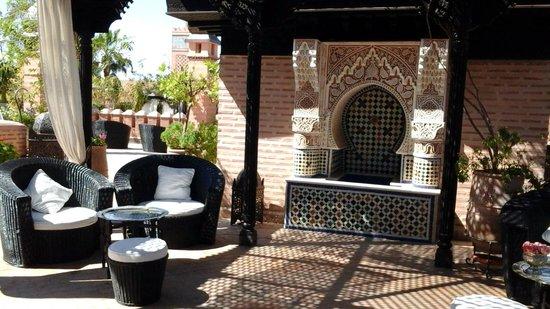 La Sultana Marrakech : Rooftop Terrace Sitting Areas
