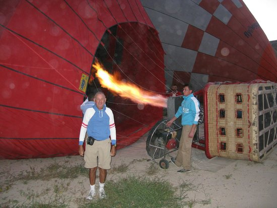 Cappadocia Voyager Balloons : Getting started