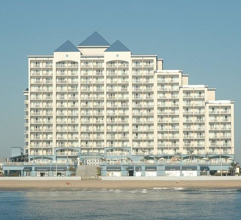 Holiday Inn Hotel & Suites Ocean City : Located directly on the boardwalk and Atlantic Ocean.