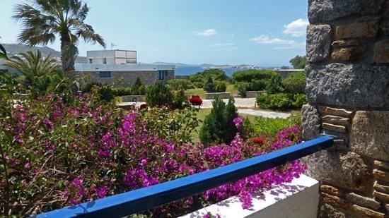 Mykonos Theoxenia : Hotel room balcony view