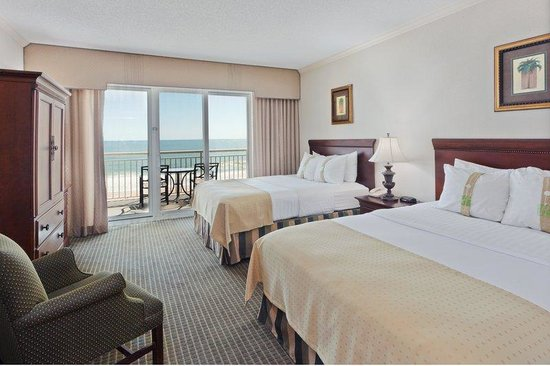 Holiday Inn Hotel & Suites Ocean City: Relax in your spacious bedroom with a private Oceanfront balcony.