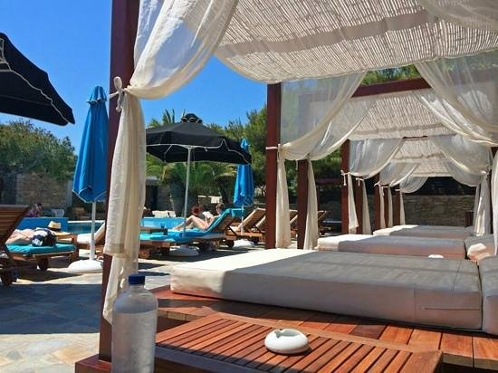 Mykonos Theoxenia: Hotel pool side