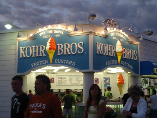 Ocean City Boardwalk: Kohr Custard