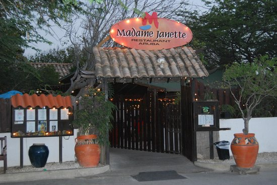 Madame Janette: Entrance to Madame Jeannette