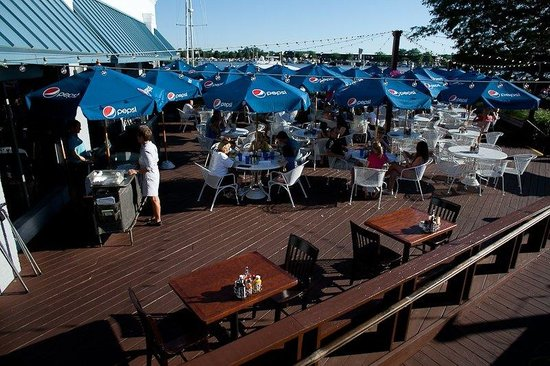 Holiday Inn Grand Haven - Spring Lake: Relax on our guest patio