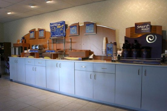 Holiday Inn Express Absecon - Atlantic City Area: Breakfast Bar