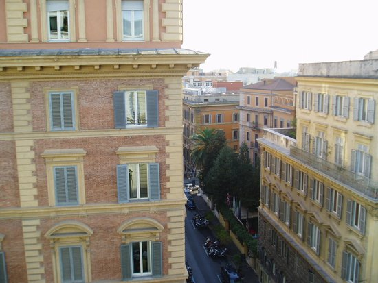 Hotel Savoy : 部屋からの眺め