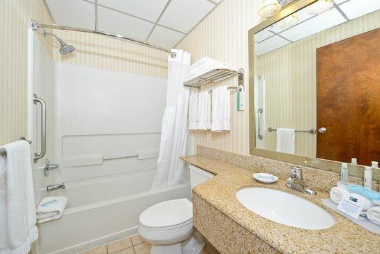 Comfort Inn Lancaster - Rockvale Outlets: Guest Bath