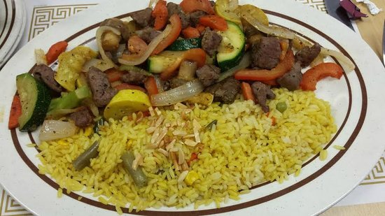 Cedar Valley Cafe: Delicious Beef Ghalaba