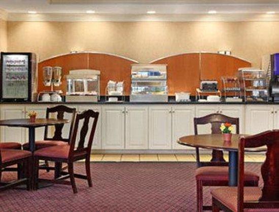 Days Inn Alta Vista: Breakfast Area