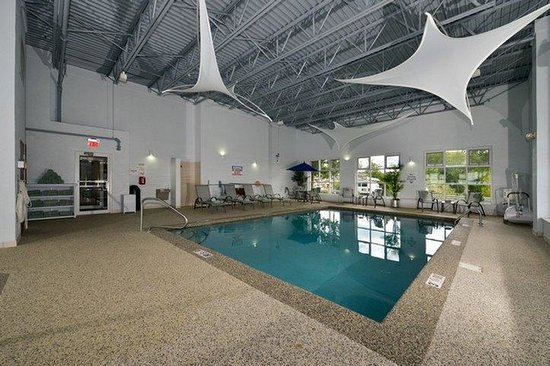 Holiday Inn Express Milford : Indoor heated pool great for the entire family to enjoy!