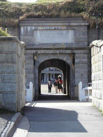 Site historique de la Citadelle : Eingang zur Zitadelle, Halifax