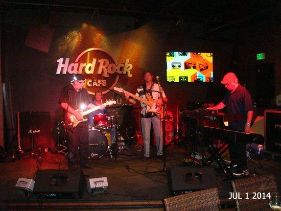 Hard Rock Cafe : Blues Band