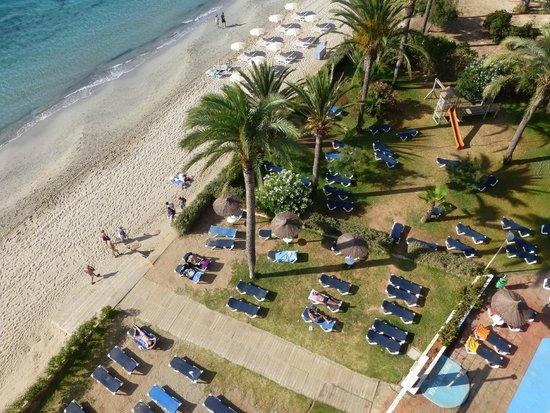 Hotel Playasol The New Algarb: vistas desde la habitacion