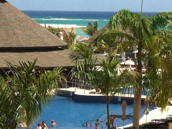 Royalton White Sands Resort : View from our room in Block A