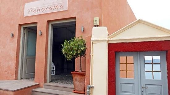 Panorama Boutique Hotel : Front of hotel