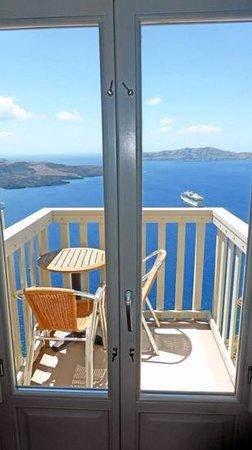 Panorama Boutique Hotel : Hotel room balcony