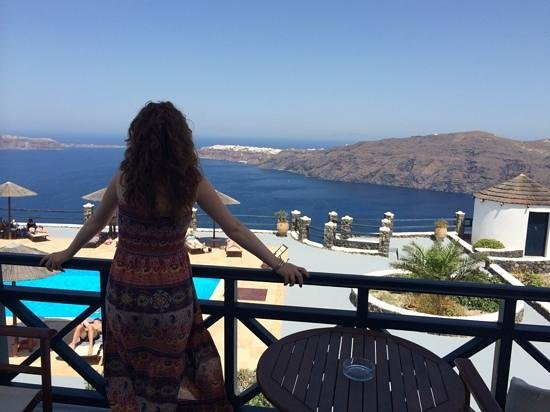 Caldera's Memories : The view from our room - breathtaking!