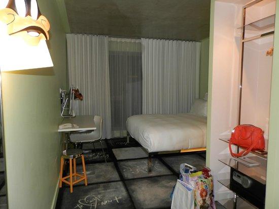 Mama Shelter Lyon : La chambre