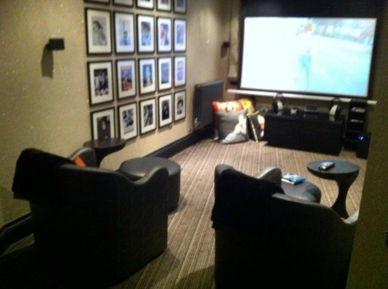The Chester Residence : Home Cinema