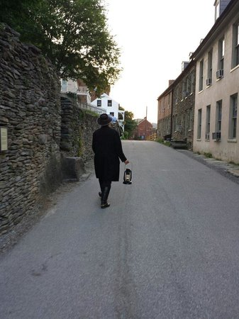 Ghost Tours of Harpers Ferry: Rick, the tour guide