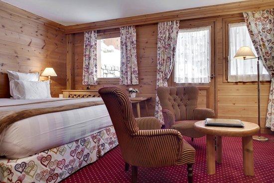 Hotel Le Grand Coeur & Spa : chambre double