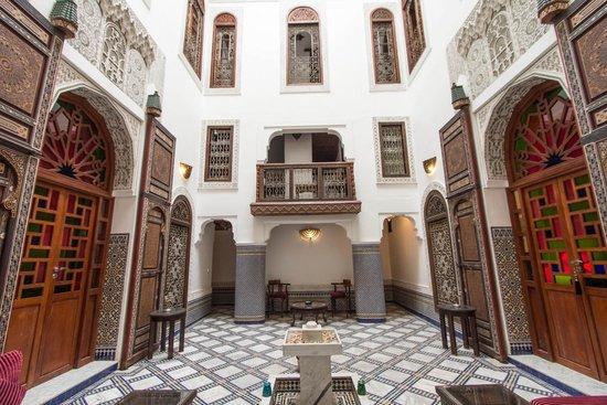 Riad Noujoum Medina : Patio