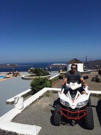 Caldera's Memories : Ask Koula for scooter!
