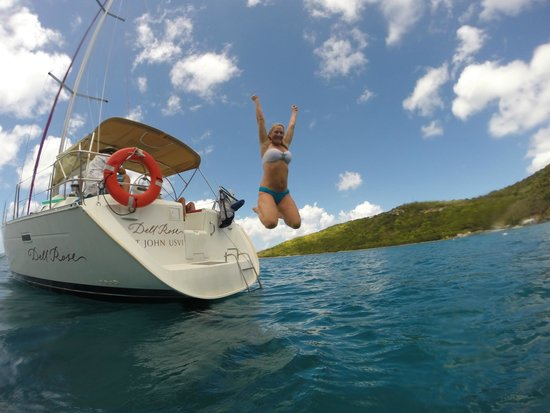 Sail Safaris: Great day aboard the Dell Rose sailing to Jost Van Dyke.
