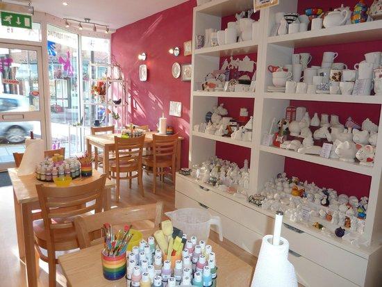 Hotpotz Ceramic Painting Studio