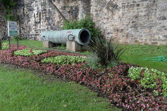 Rumeli Fortress: Одинокая пушка снаружи крепости