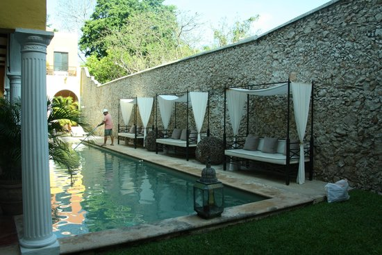 Hotel Hacienda Merida : piscina