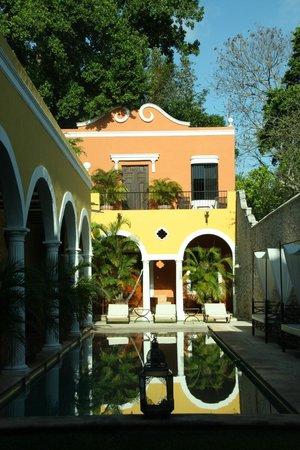 Hotel Hacienda Merida: Piscina
