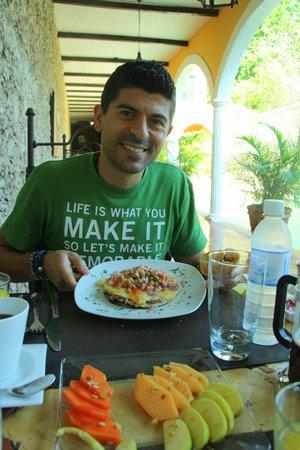 Hotel Hacienda Merida: Colazione