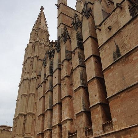 Palma Cathedral Le Seu: esterno