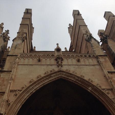 Catedral de Mallorca: facciata