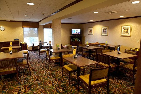 Holiday Inn Express Hotel and Suites Richland : Breakfast Bar