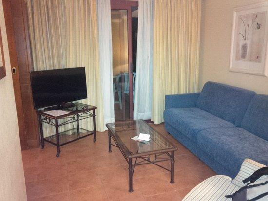 Suite Hotel Atlantis Fuerteventura Resort: salottino della junior suite