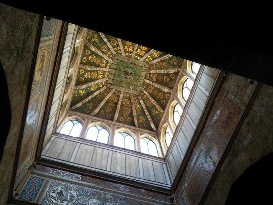 Palais des Normands (Palazzo dei Normanni) : altro soffitto decorato
