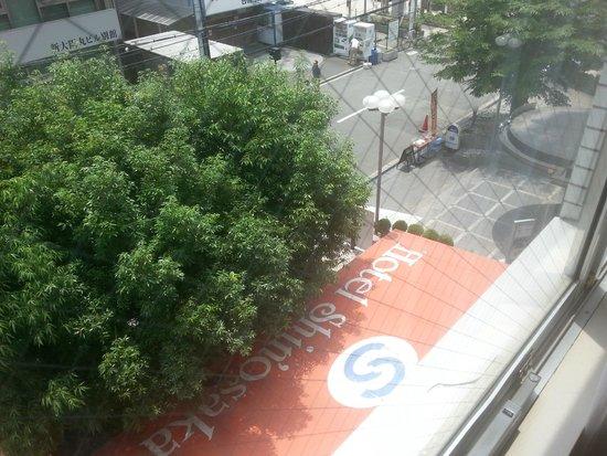Hotel Shin Osaka: Ventana
