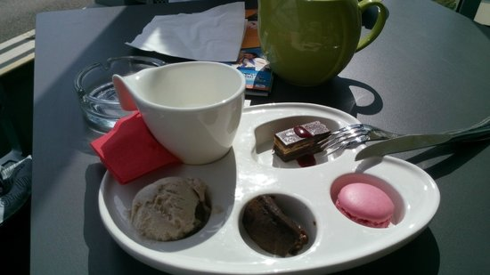 Hotel de la Plage : thé gourmand (très bon)