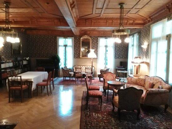 Rosenlaui Hotel: Communal Area