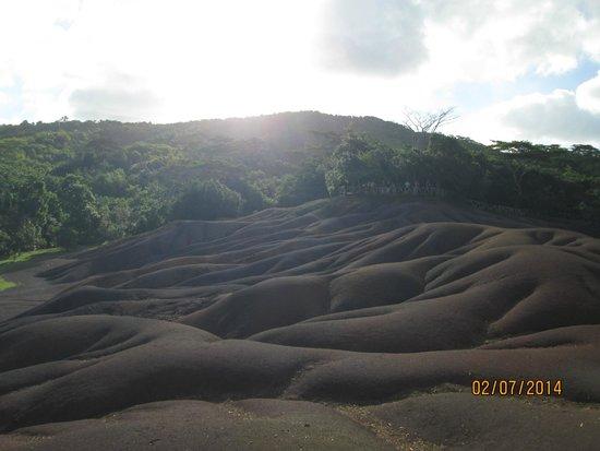 Seven Colored Earths: Coloured sands? I wasn't impressed