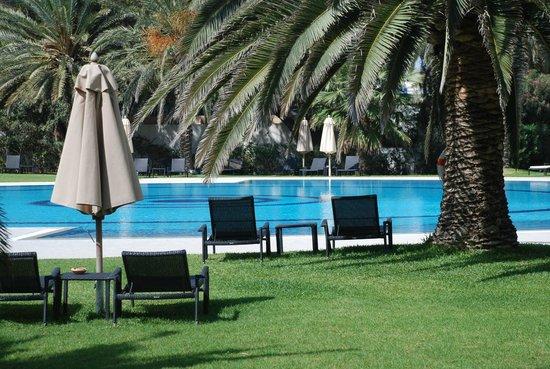 Hotel Palace Oceana: Piscina exterior
