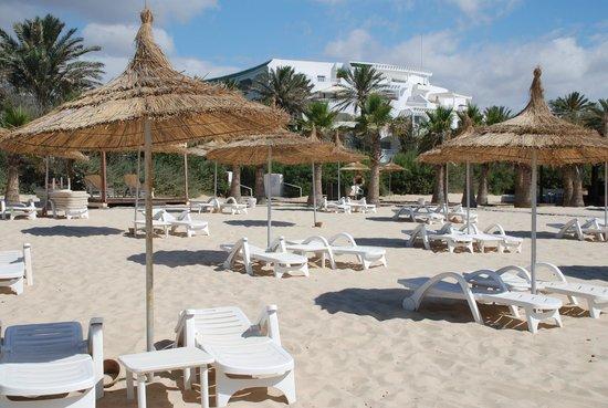 Hotel Palace Oceana Hammamet: Playa